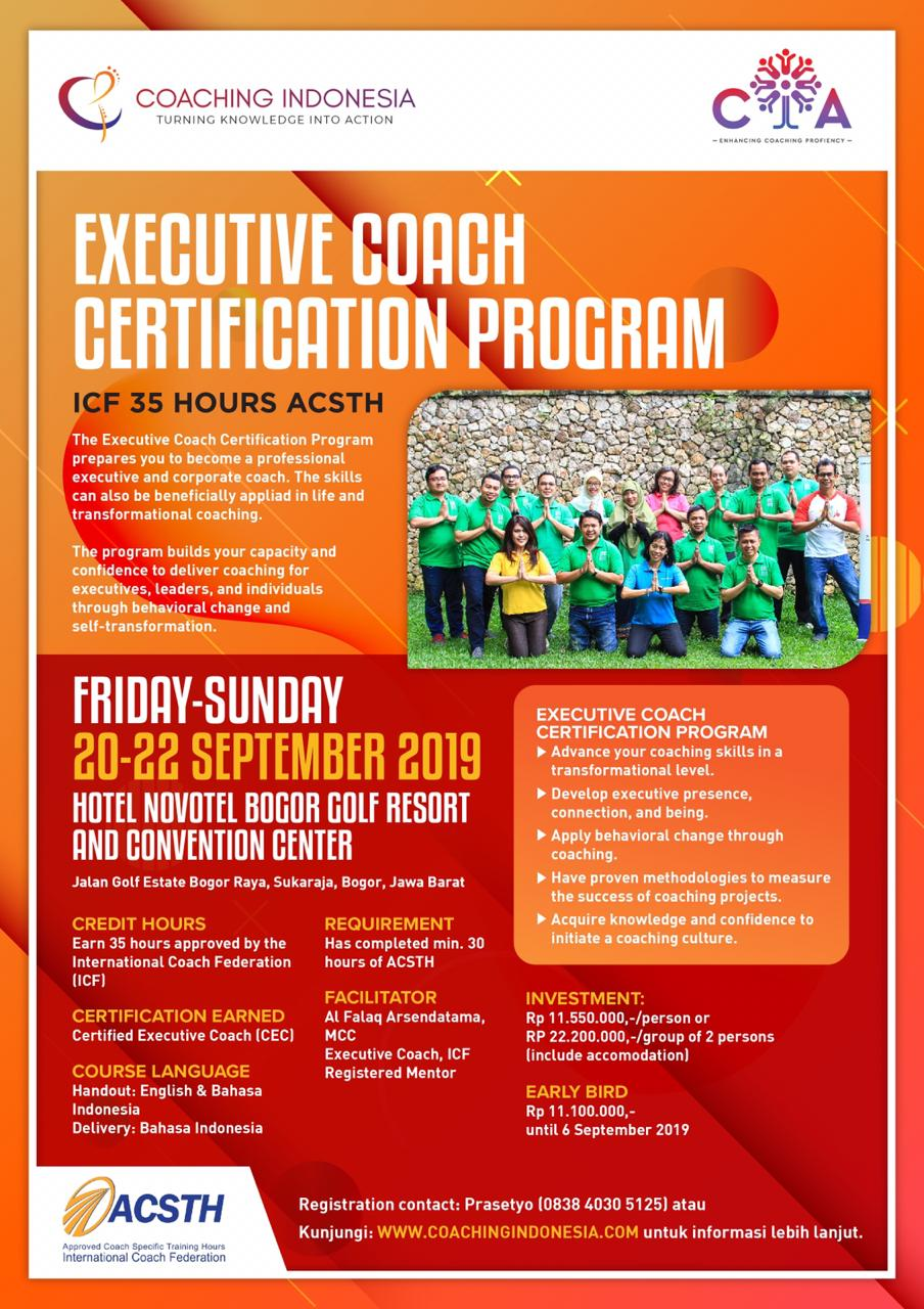 Executive Coach Certification Program